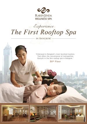 Rarinjinda Opens The First Rooftop Spa In Bangkok