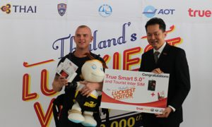 21 millionth visitor of Thailand in 2015_04_500x300