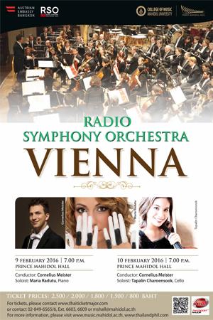 Radio Symphony Orchestra Vienna Poster 500x300