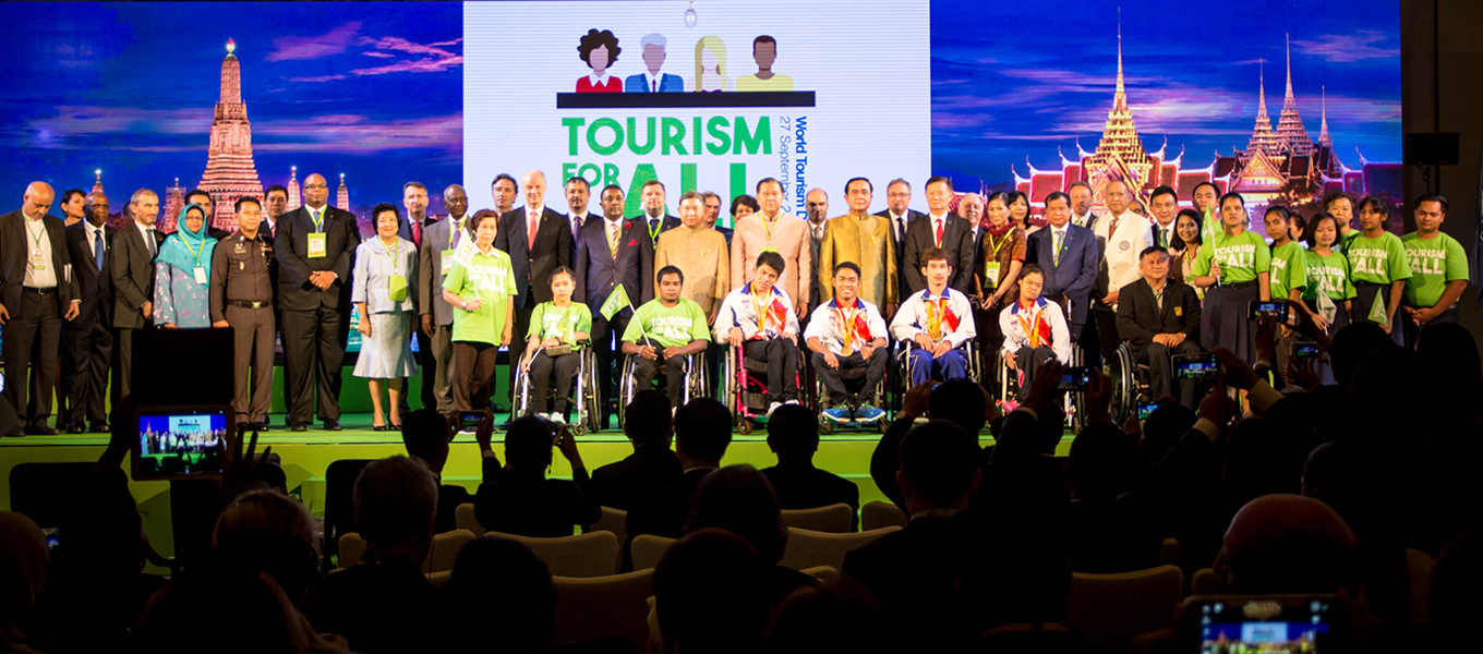 Thailand successfully hosts World Tourism Day 2016, plans ASEAN Universal Design Hub