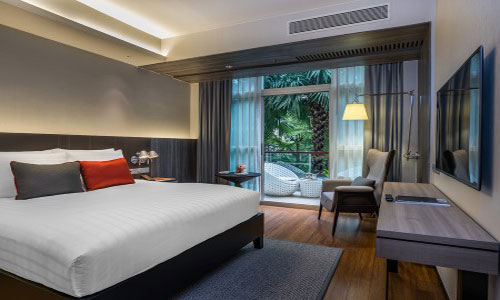 Pullman BKK King Power brand-new Deluxe with Balcony