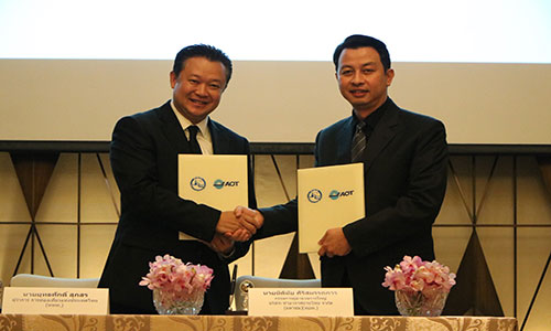 TAT and Airports Authority sign MoU to promote tourism, share research