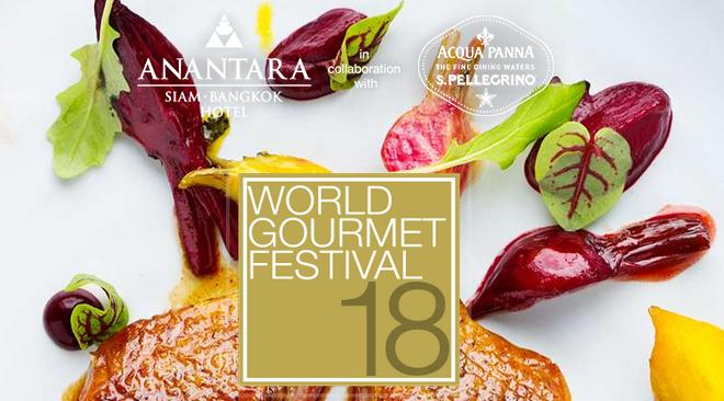 18th World Gourmet Festival Returns To Anantara Siam