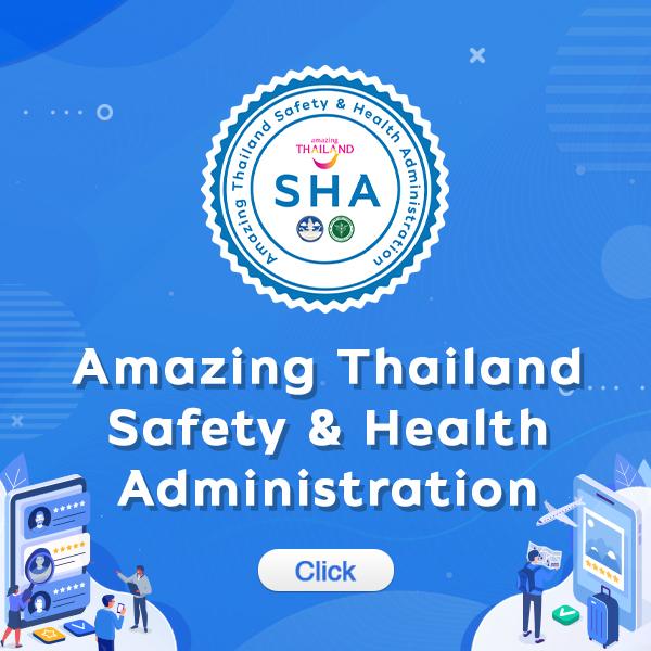 Amazing Thailand SHA certificate