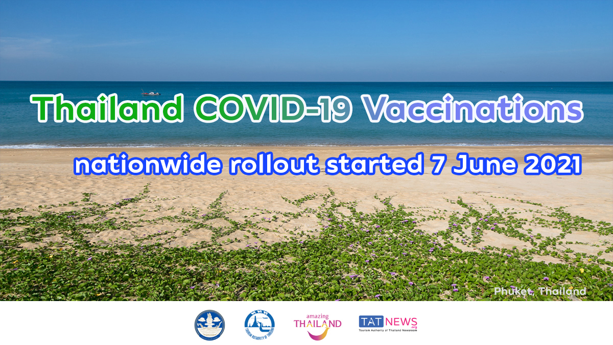 Thailand started mass vaccination rollout today