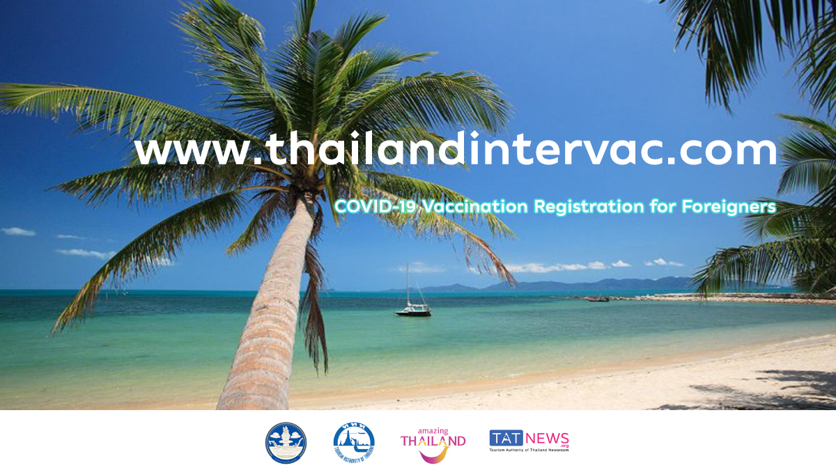 Thailand launches website for foreigners to register for vaccinations