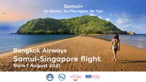 Bangkok Airways resumes Samui-Singapore flights on 1 August 2021
