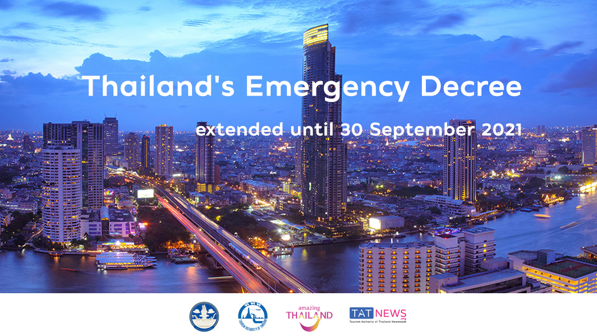 Thailand extends Emergency Decree for thirteenth time until 30 September 2021