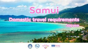 Measures for domestic travel to Ko Samui, Surat Thani