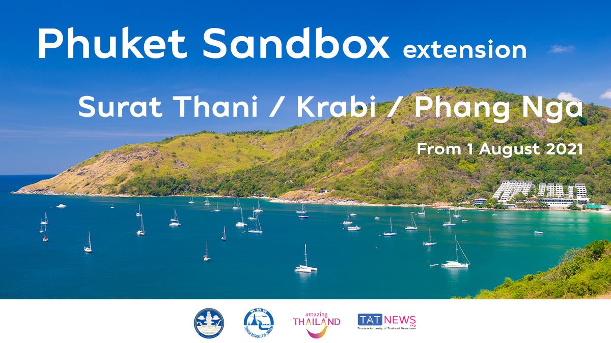 TAT's extended 'Phuket + Surat Thani/Krabi/Phang Nga Sandbox' model gets in-principal approval