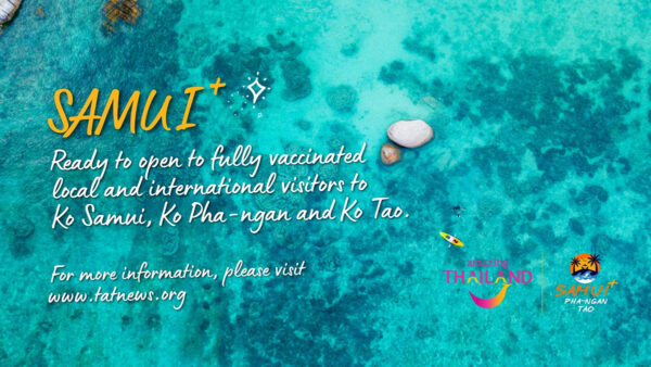 Samui, Ko Pha-ngan and Ko Tao reopen today with the launch of 'Samui Plus' programme