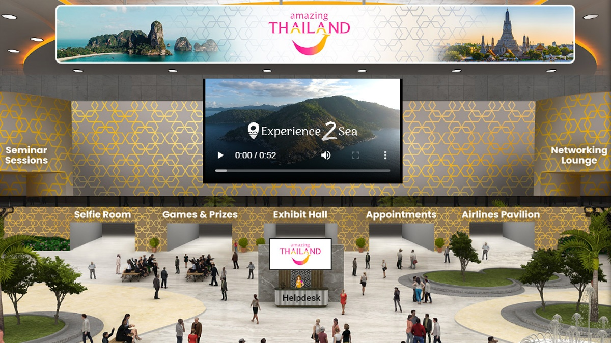 TAT Los Angeles' 4th Amazing Thailand Virtual Marketplace takes place on 28-29 July 2021