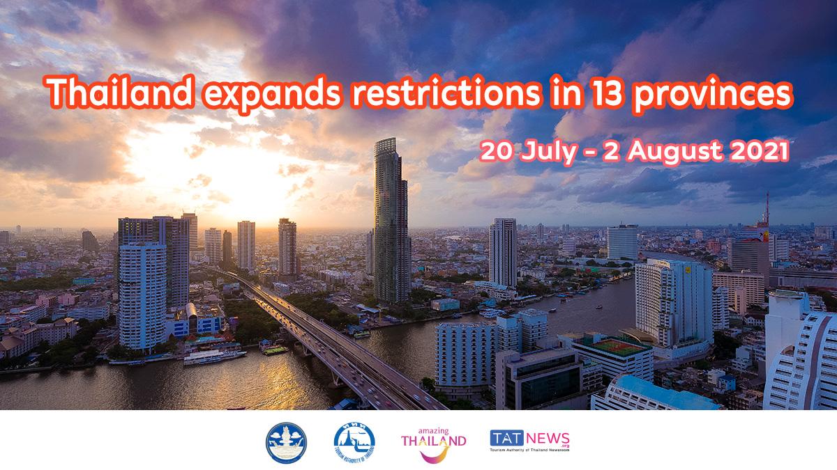 Thailand announces lockdown in 13 dark-red zone provinces
