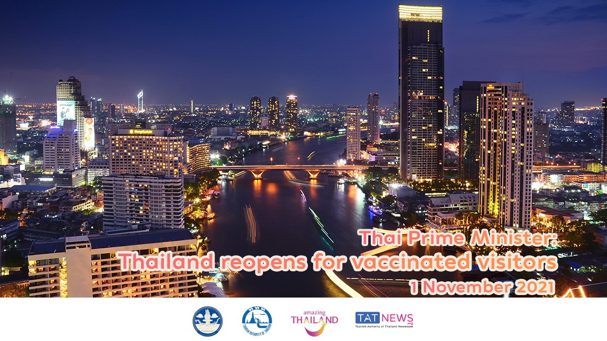 Thailand to lift quarantine for vaccinated visitors from low-risk countries from November